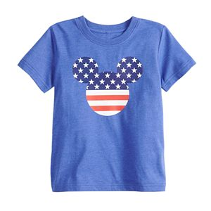 Disney's Mickey Mouse Toddler Boy Americana Graphic Tee by Family Fun?