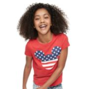Disney's Minnie Mouse Girls 7-16 Americana Graphic Tee by Family Fun