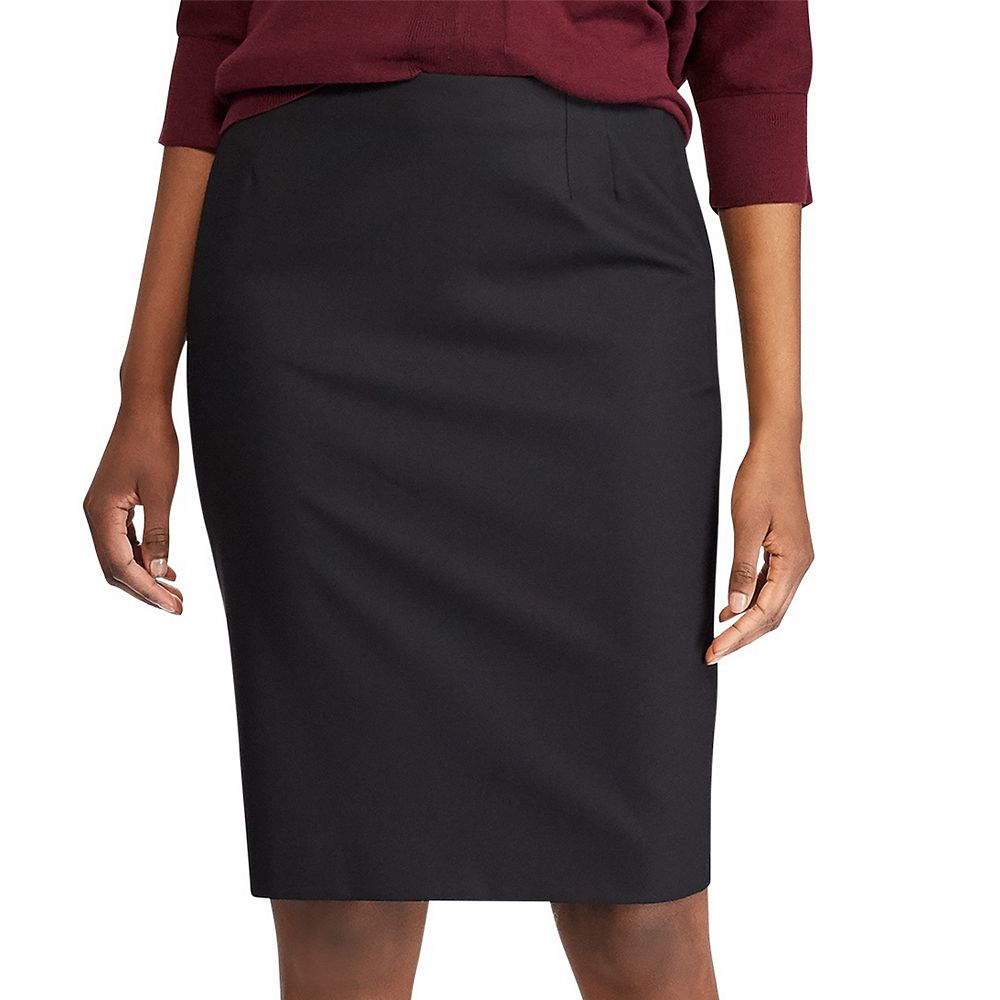 Women's Chaps Weekday Ready Pull-On Straight Skirt