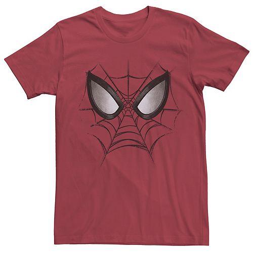 Men's Spider-Man Face Tee