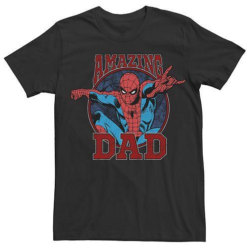 Men's Spider-Man Amazing Dad Tee