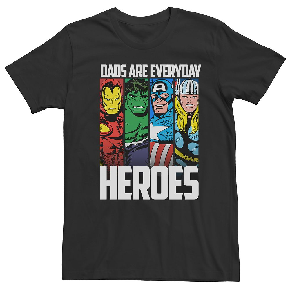 """Men's Avengers """"Dads Are Everyday Heroes"""" Tee"""
