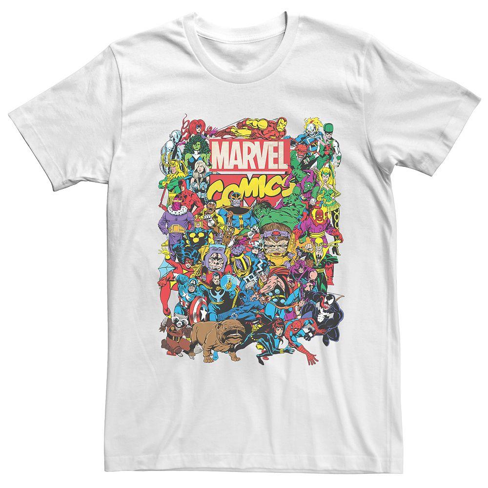 Men's Marvel Comics Entire Cast Tee