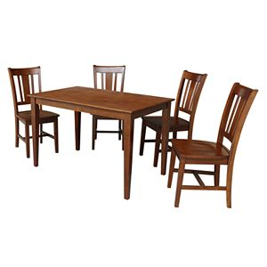 International Concepts Thomas Dining Table & Chairs 5-pc. Dining Set