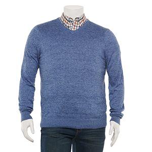 Big & Tall Croft & Barrow Easy Care V-neck Sweater
