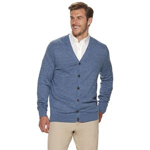 Big & Tall Croft & Barrow® Cardigan Sweater