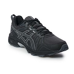 asics shoes black