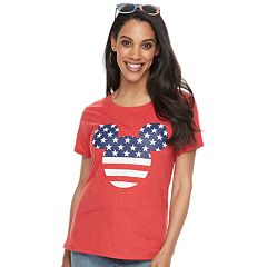 6bc49919 Disney's Minnie Mouse Women's Americana Graphic Tee by Family Fun