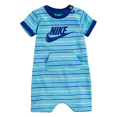 Baby Boy Nike Striped Romper