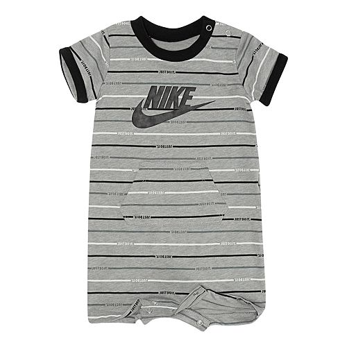 Baby Boy Nike Striped Romper