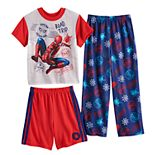 Boys 4-10 Spider-Man Homecoming Far From Home 3-Piece Pajama Set