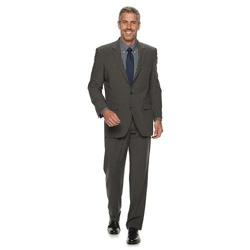 Men's Croft & Barrow® Classic-Fit Pleated Stretch Suit