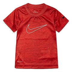 Toddler Boy Nike Logo Dri-FIT Active Tee