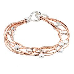 Dana Buchman Two Tone Multi Strand Bracelet
