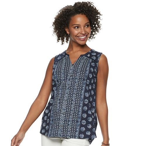 Women's SONOMA Goods for Life® Button Down Tank