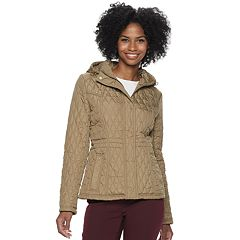 Women's Weathercast Quilted Hooded Anorak