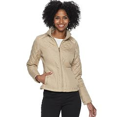 Women's Weathercast Multi Quilted Moto Jacket