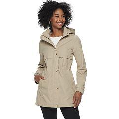 Women's Weathercast Hooded Bonded Anorak Jacket