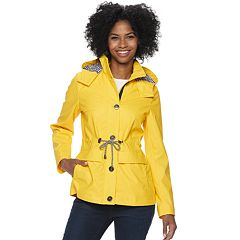 Women's Weathercast Hooded Anorak Rain Jacket