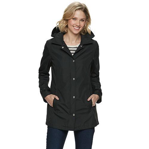 Women's Weathercast Hooded Bonded Jacket