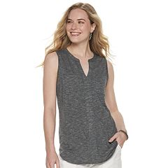 9366bd68c8334a Women's SONOMA Goods for Life™ Splitneck Utility Tank