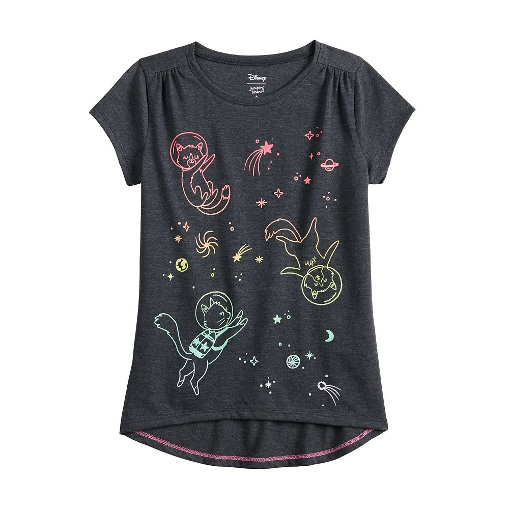Girls 4-12 Jumping Beans® High-Low Hem Graphic Tee