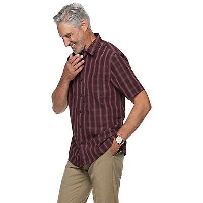 Men's Croft & Barrow Short Sleeve Microfiber Shirt