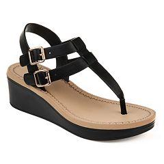 f887a0dd7c Journee Collection Bianca Women's Wedge Sandals
