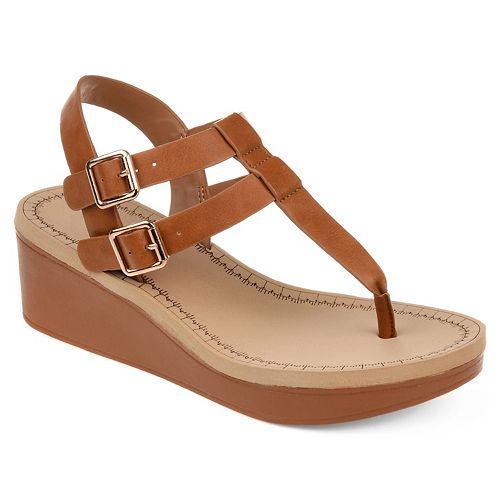 Journee Collection Bianca Women's Wedge Sandals