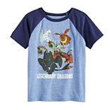 Boys 4-12 Jumping Beans® Legendary Dragons Graphic Tee