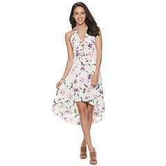 Juniors' Candie's® High-Low Maxi Dress