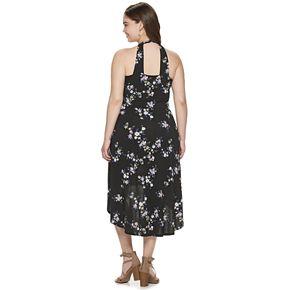 Juniors' Plus Size Candie's® High-Low Maxi Dress