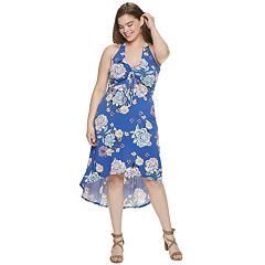 57378461ac3 Juniors  Plus Size Candie s® High-Low Maxi Dress
