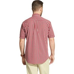 Men's Arrow Hamilton Plaid Poplin Button-Down Shirt