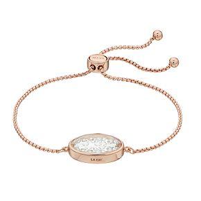 Brilliance Adjustable Shaker Bracelet with Swarovski Crystals