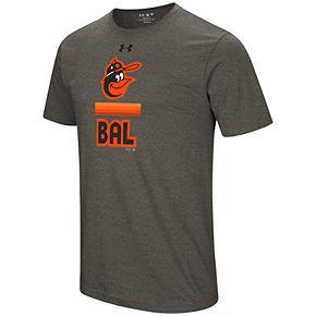 Men's Under Armour Baltimore Orioles Retro Lockup Graphic Tee