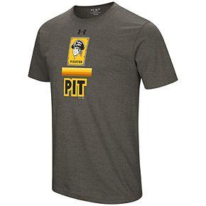 Men's Under Armour Pittsburgh Pirates Retro Lockup Graphic Tee