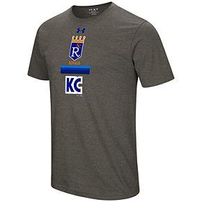 Men's Under Armour Kansas City Royals Retro Lockup Graphic Tee