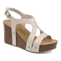 f7f6efa3e86 Journee Collection Geneva Women s Wedge Sandals