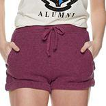 Juniors' SO® Cuffed Cozy Shorts