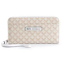 Dana Buchman Ava Double-Entry Wristlet Wallet