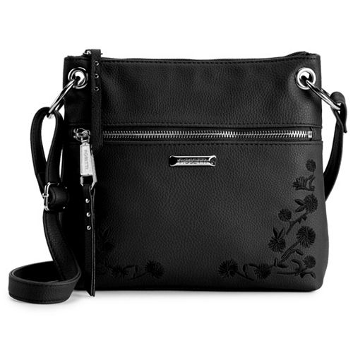 Rosetti Bodhi Floral Embroidery Mini Crossbody Bag