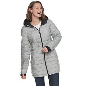 Women's Zero Xposur Geneva Quilted Stretch Puffer Coat