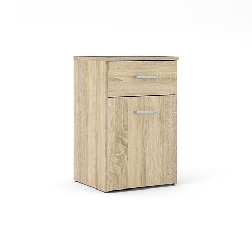 Tvilum 1 Drawer, 1 Door Nightstand
