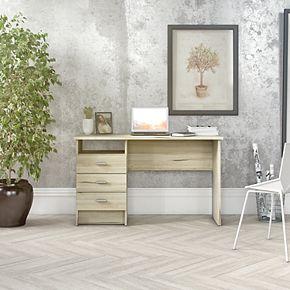 Tvilum Desk with 3 Drawers