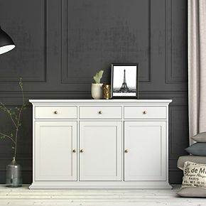Tvilum Sideboard with 3 Doors and 3 Drawers