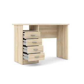 Tvilum Desk with 4 Drawers