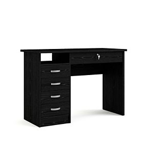 Tvilum Desk with 5 Drawers
