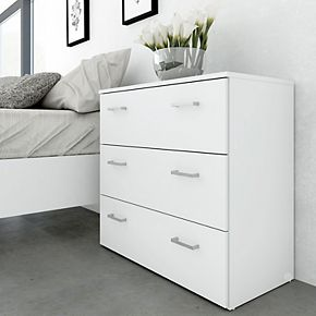 Tvilum 3 Drawer Chest