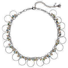 Simply Vera Vera Wang Circle Collar Necklace